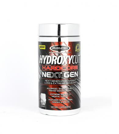 MuscleTech Hydroxycut Hardcore Next Gen - 100kaps.