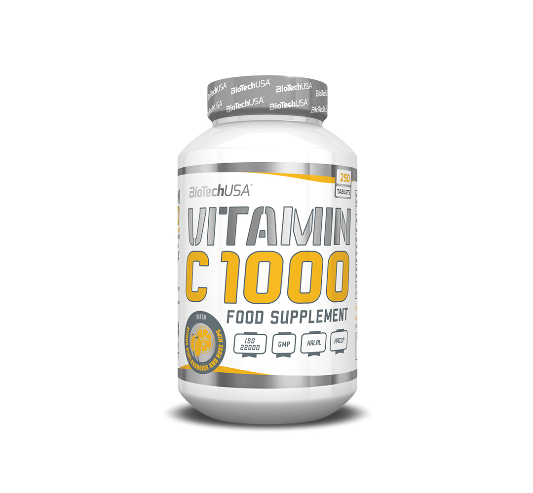 BioTech Vitamin C 1000 - 250tabl.