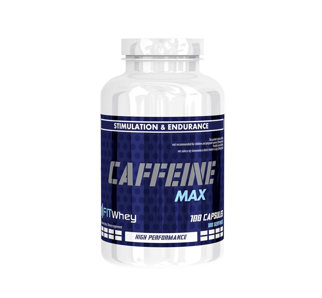 FitWhey Caffeine - 100kaps.