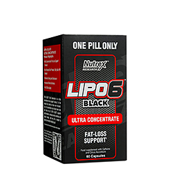 Nutrex Lipo-6 Black Ultra Concentrate - 60kaps.