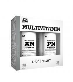 FA Nutrition MultiVitamin AM + PM Formula - 90+90kaps.
