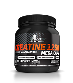 Olimp Creatine 1250 Mega Caps - 400kaps.