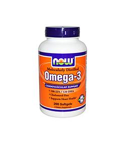 NOW Foods Omega 3 1000mg - 200 kaps.