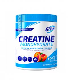 6PAK Nutrition Creatine Monohydrate – 500g