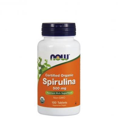 NOW Foods Spirulina - 100tabl.