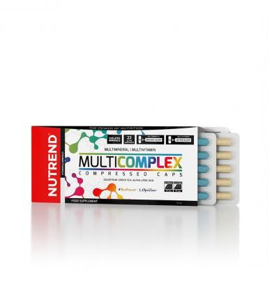 Nutrend MultiComplex Compressed Caps - 60kaps.