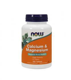 NOW Foods Calcium & Magnesium - 120kaps.
