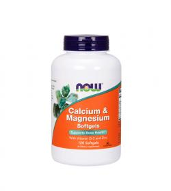 NOW Foods Calcium & Magnesium with Vitamin D3 and Zinc - 240kaps.