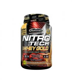 MuscleTech Nitro Tech 100% Whey Gold - 2724g