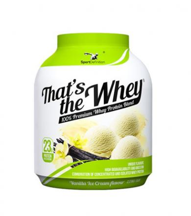 SportDefinition That's The Whey - 2,27kg