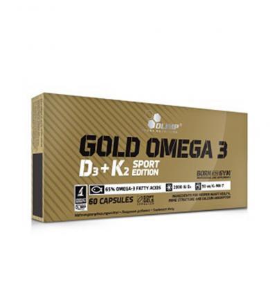 Olimp Gold Omega 3 D3+K2 Sport Edition - 60kaps.