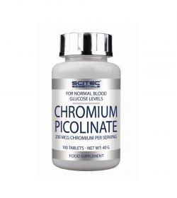 Scitec Chromium Picolinate - 100 tabl.