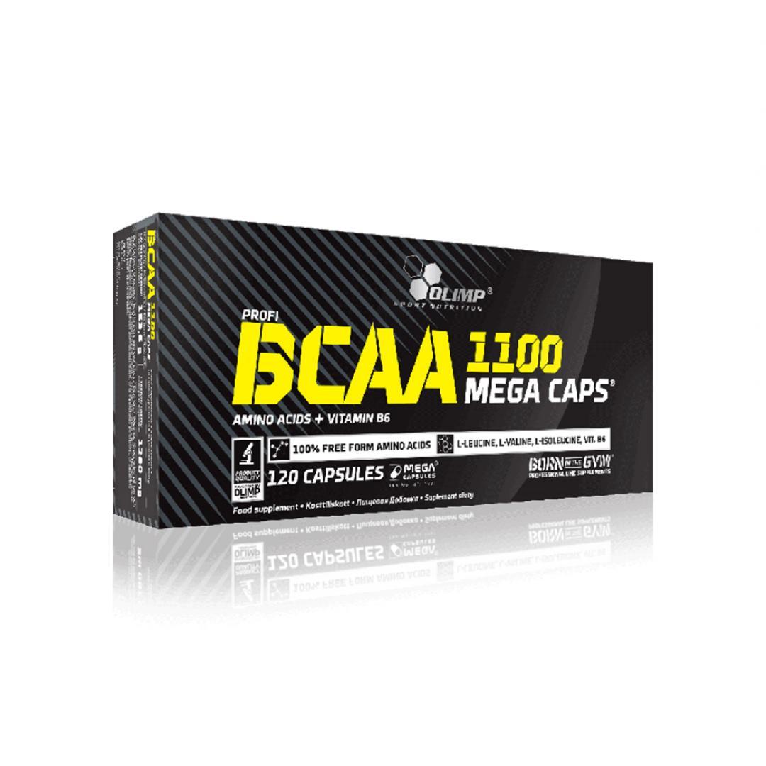 Olimp BCAA 1100 Mega Caps - 120kaps.