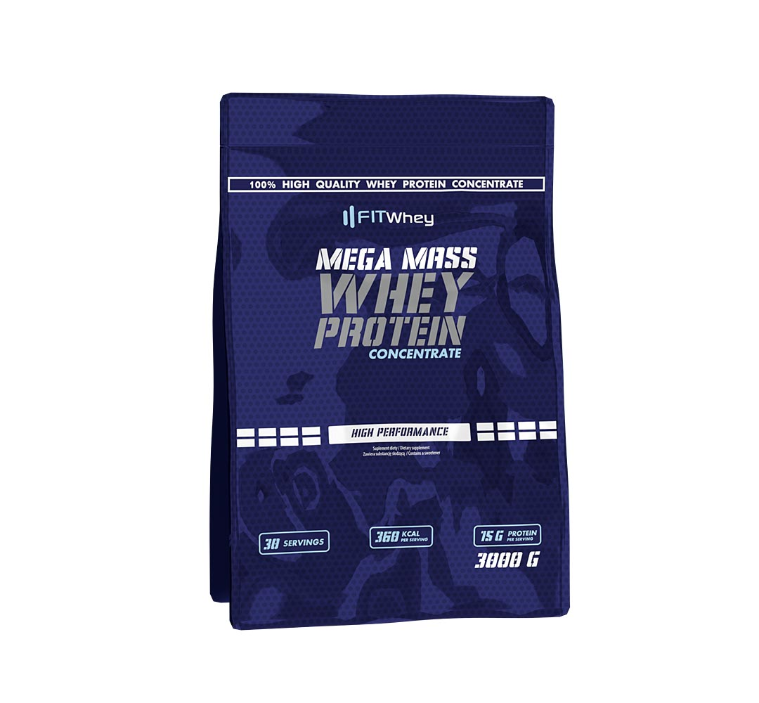 FitWhey Mega Mass Whey Protein Concentrate - 3000g