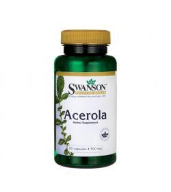 Swanson Acerola 500mg - 60 kaps.