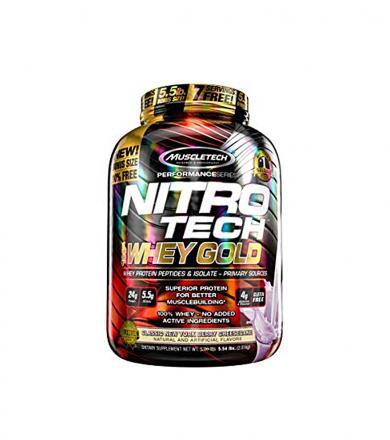 MuscleTech Nitro Tech 100% Whey Gold 2490g -2724g
