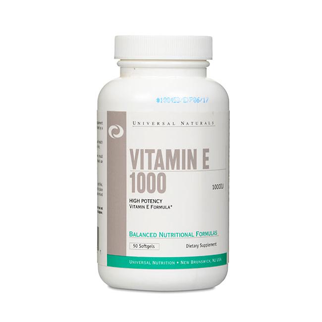 Universal Vitamin E - 50kaps.