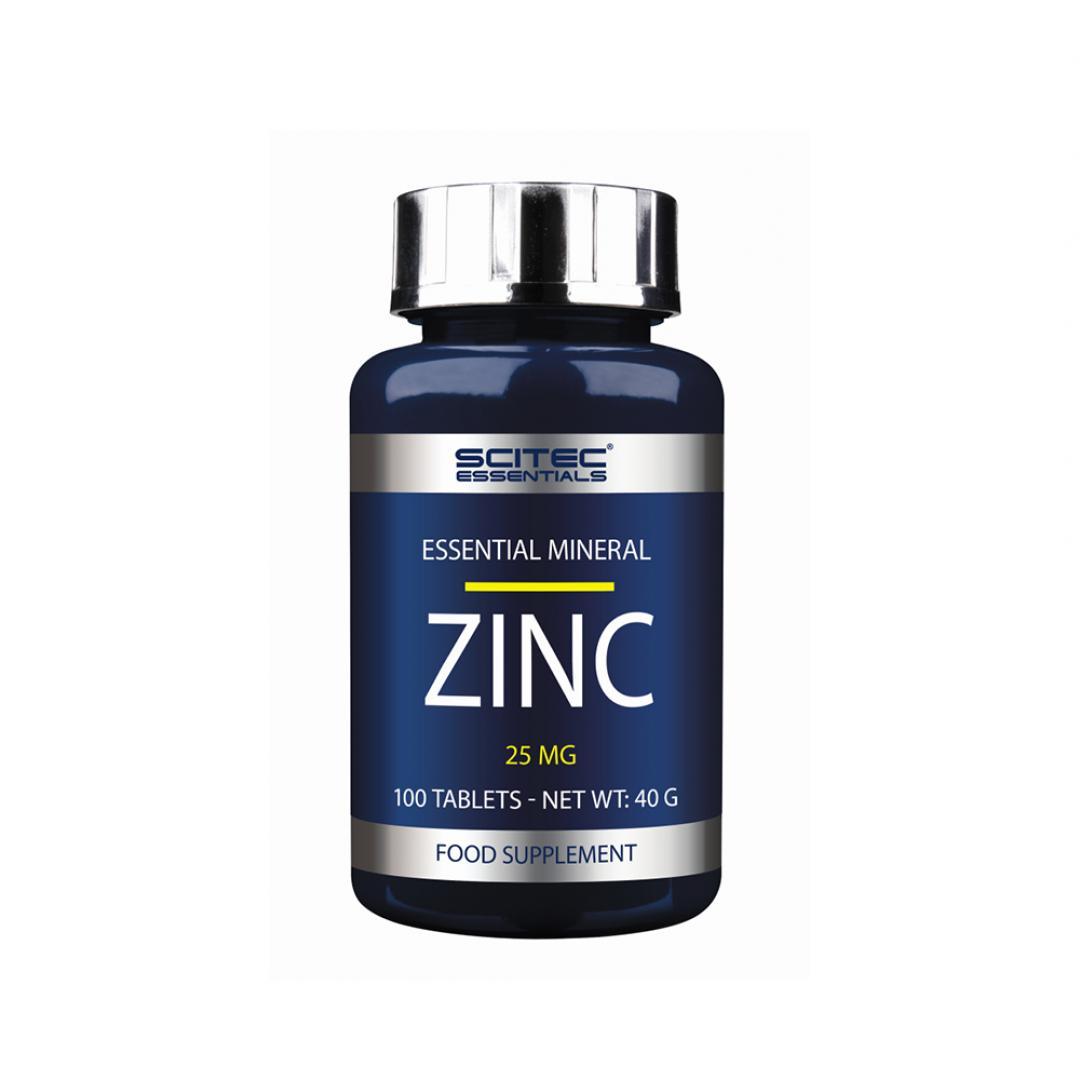Scitec Essentials Zinc 25mg - 100 tabl.