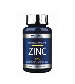 Scitec Essentials Zinc 25mg - 100 tabl.