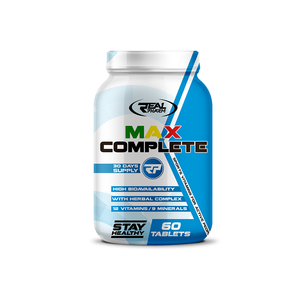 RealPharm Max Complete - 60 tab.