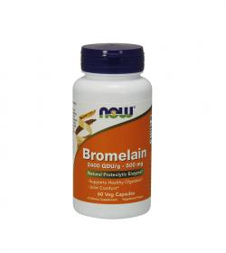 NOW Foods Bromelain -120kaps.