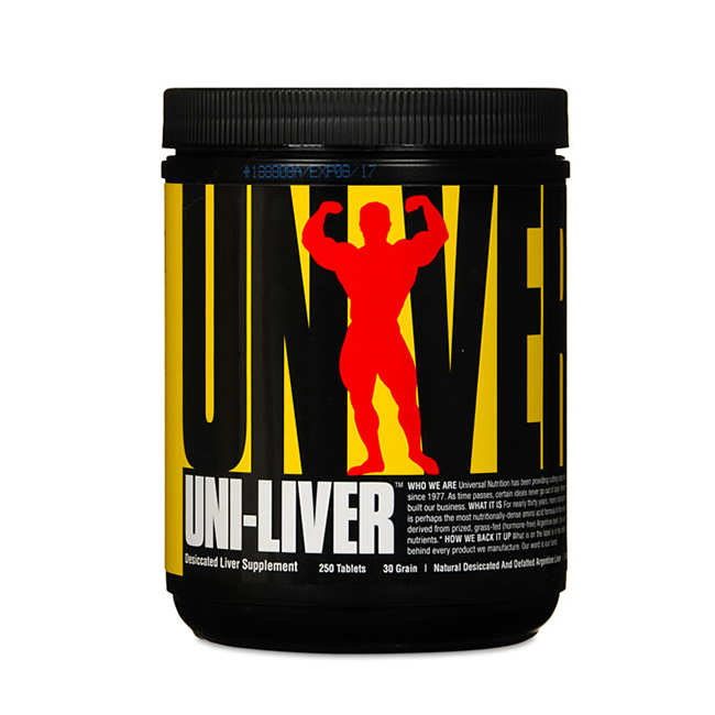 Universal Nutrition Uni-Liver - 250tabl.