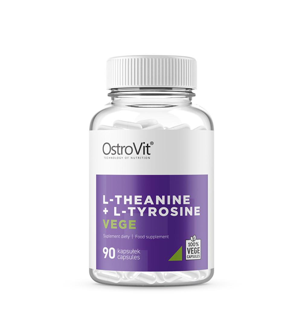 Ostrovit L-Teanina + L-Tyrozyna VEGE - 90kaps.