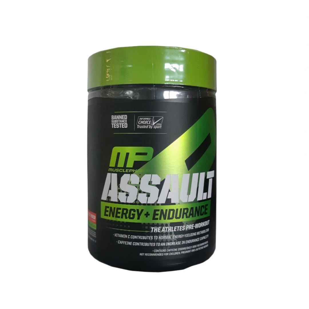 MusclePharm Assault Energy + Endurance - 333-345g