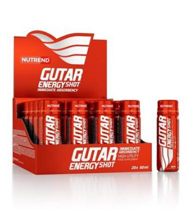 Nutrend Gutar Energy SHOT - 20X60ml