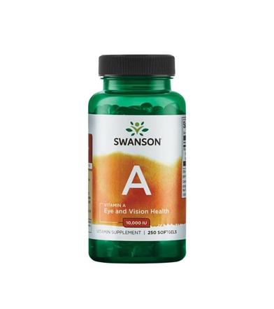 Swanson Vitamin A - 250kaps.