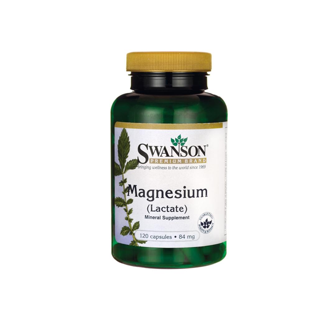 Swanson Magnesium Lactate - 120kaps.