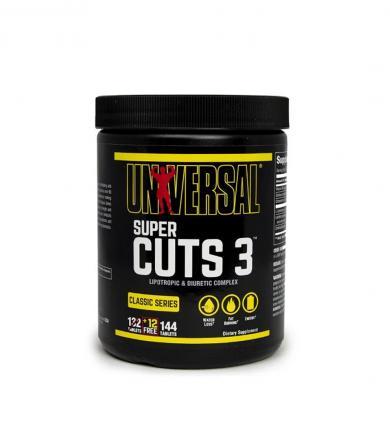 Universal Nutrition Super Cuts 3 - 132tabl.