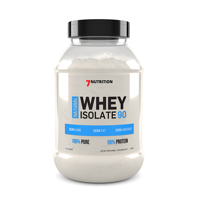 7Nutrition  Whey Isolate WPI 90 - 500g