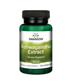 Swanson Ashwagandha Extract - 60kaps.