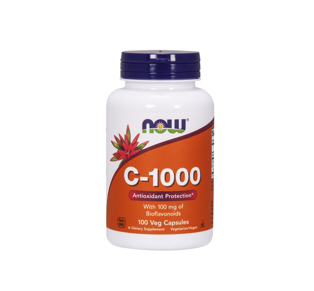 NOW Foods Vitamin C-1000 - 100kaps.
