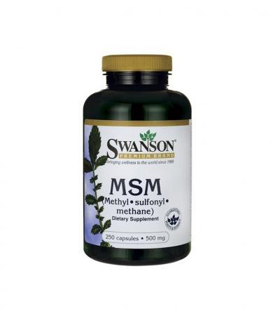 Swanson MSM 500mg - 250kaps.