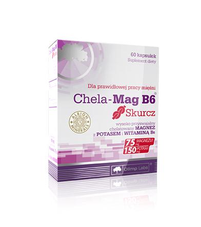 Olimp Chela-Mag B6 Skurcz - 60kaps.