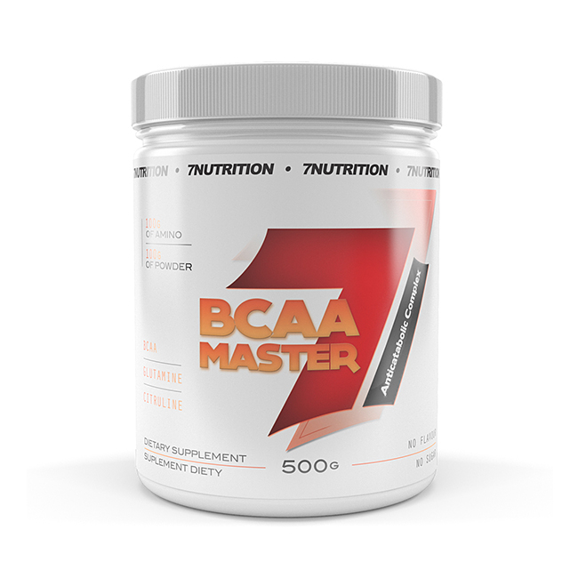 7Nutrition BCAA Master - 500g