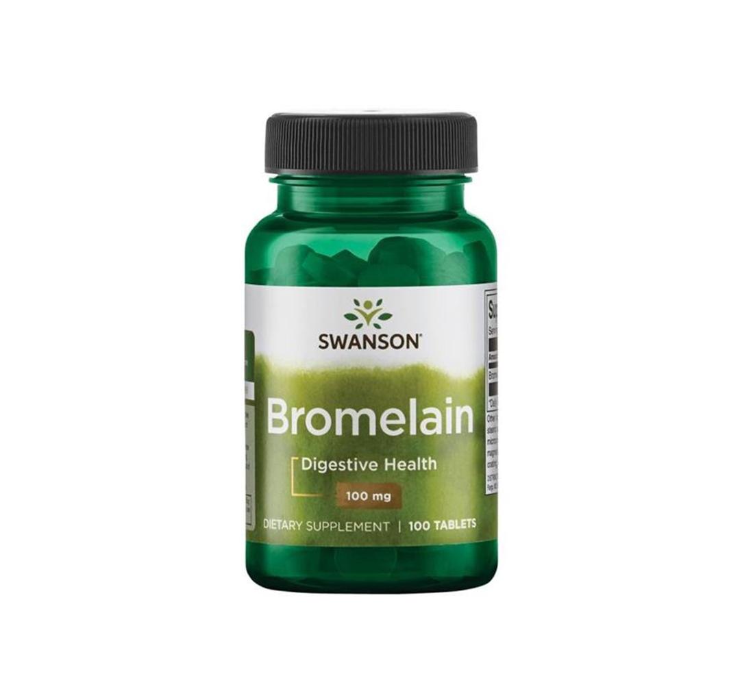 Swanson Bromelain 100 mg - 100tabl.