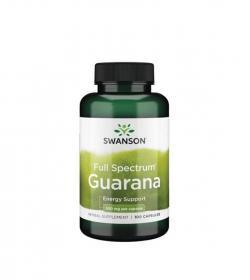 Swanson Guarana 500mg - 100kaps.