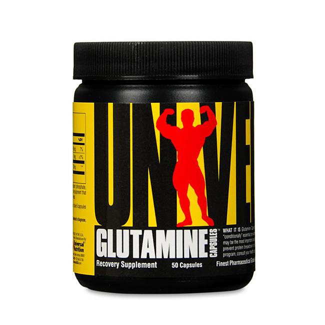 Universal Glutamine - 50kaps.