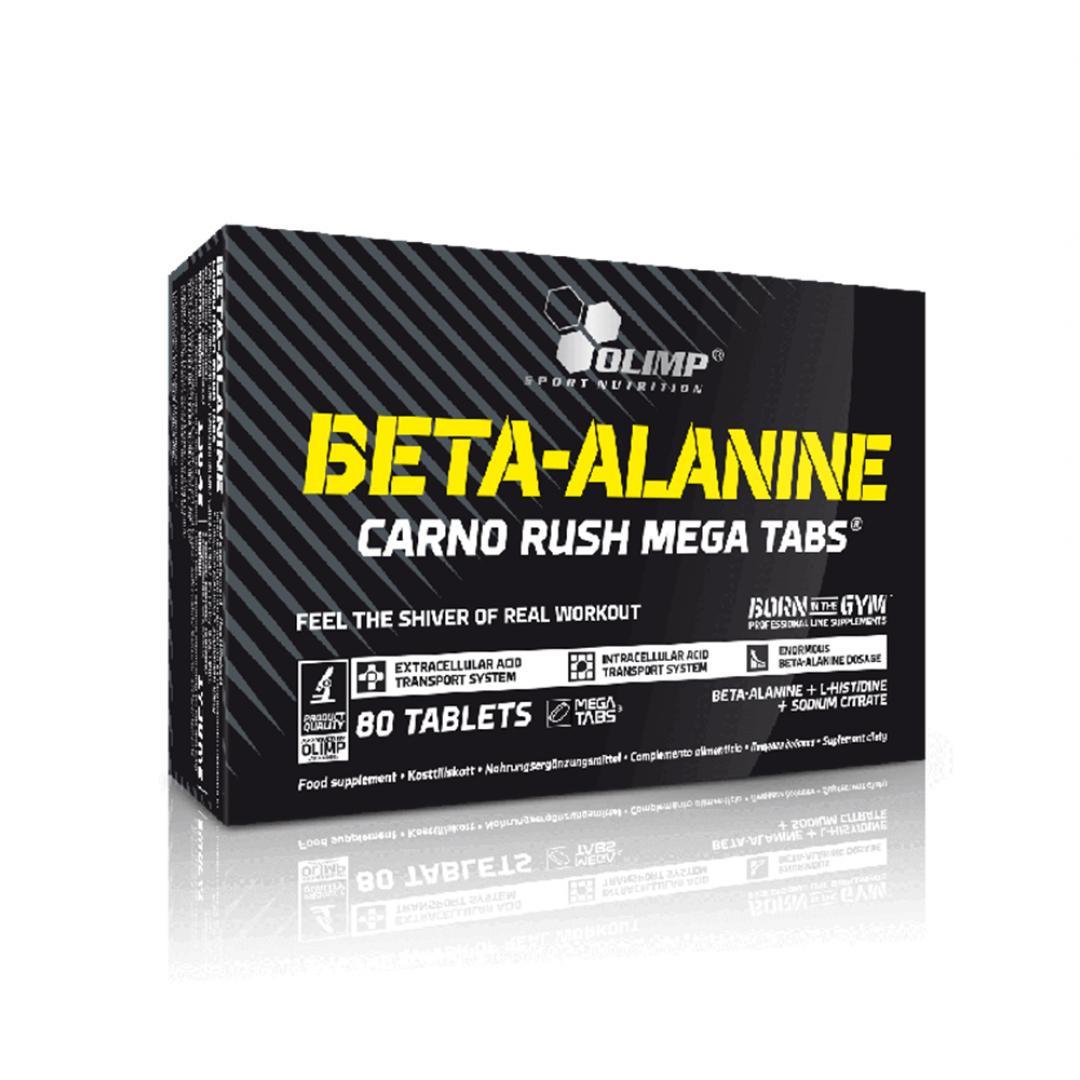 Olimp Beta-alanine Carno Rush Mega Tabs - 80tabl.