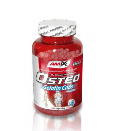 Amix OsteoGelatine MSM - 200kaps.