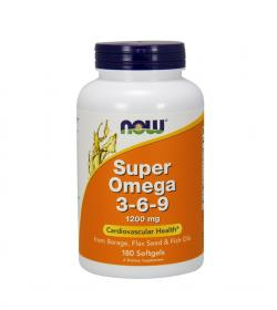 NOW Foods Super Omega 3-6-9 - 180kaps.