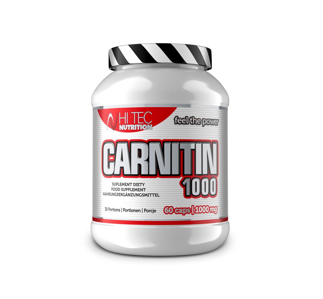 Hi Tec Carnitin 1000 - 60kaps.