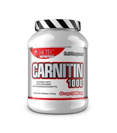 Hi Tec Carnitin 1000 - 60 kaps.