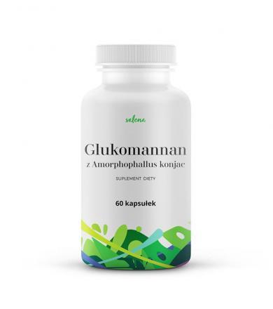 Glukomannan z Amorphophallus konjac Salena - 60kaps.