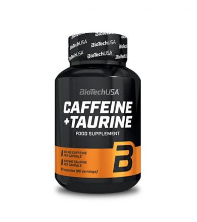 BioTech Caffeine and Taurine - 60kaps.