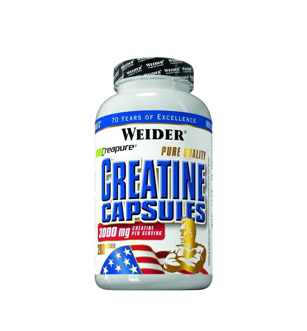 Weider Pure Creatine - 200kaps.