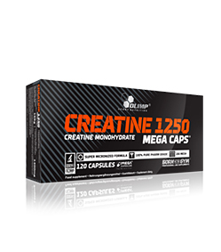 Olimp Creatine 1250 Mega Caps - 120kaps.